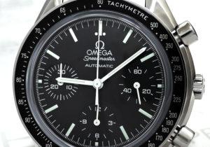OMEGA スピードマスター リデュースド 3539.50 クロノグラフ SSxSS 保証書有 【委託時計】
