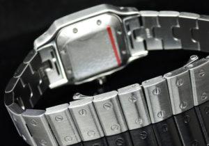 Cartier サントスガルベSM オートマティック 研磨仕上げ