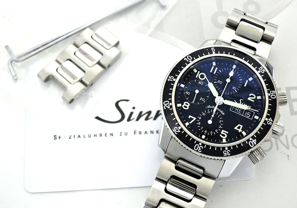 Sinn 103 クロノグラフ 自動巻 デイデイト保証書有 【委託時計】