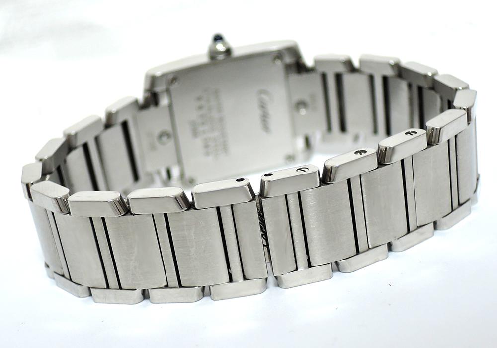 CARTIER タンクフランセーズ SM W51008Q3 レディース時計 クォーツ 【委託時計】