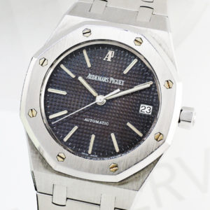 AUDEMARS PIGUET ロイヤルオーク 14790ST 自動巻 グレー文字盤 SSブレス 【委託時計】