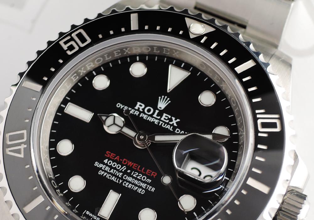 ROLEX シードウェラー4000 126600 ランダム 国内正規品 2017年3月保証書有 【委託時計】
