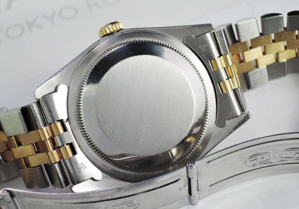 ROLEX  16233 X番 シャンパンG タペストリー 自動巻 18KYGxSS 【委託時計】