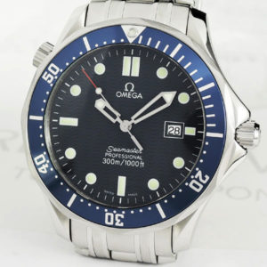 OMEGA シーマスター プロフェッショナル300m 2541.80 メンズ腕時計 青文字盤 クォーツ 保証書 【委託時計】