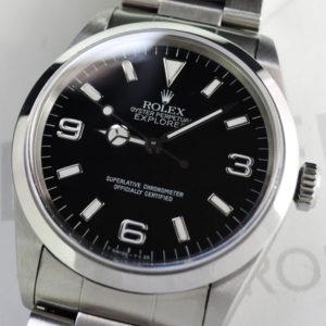 ROLEX エクスプローラ1 Ref.14270 T番 自動巻 保証書付 【委託時計】
