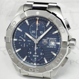 TAG HEUER アクアレーサー300m キャリバー16 WAY2112BA0925 青文字盤 メンズ腕時計 保証書 クォーツ 【委託時計】