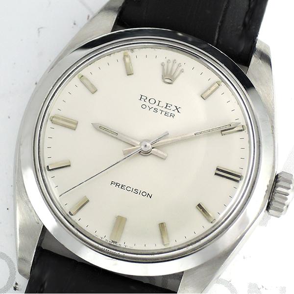 check out b3f38 da1b8 ROLEX オイスター プレシジョン 6426 3番台 手巻き メンズ腕時計 ...