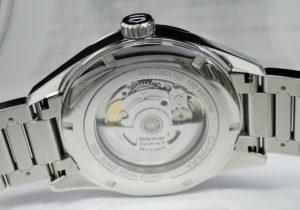 TAG HEUER カレラ キャリバー5 デイデイト WAR201C.BA0723 自動巻き メンズ シースルーバック ステンレス 保証書 【委託時計】