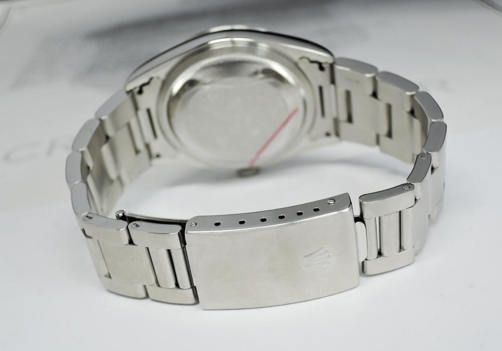 ROLEX デイトジャスト 16200 D番 シルバーローマン 08/2005保証書有 【委託時計】