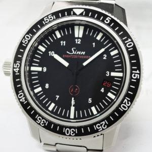 Sinn 603.EZM3 ドイツ警察特殊部隊 06/2014保証書有 【委託時計】