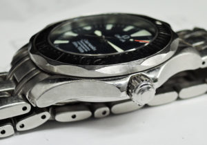 OMEGA シーマスター プロフェッショナル300m 2554.80 メンズ腕時計 クォーツ 青文字盤