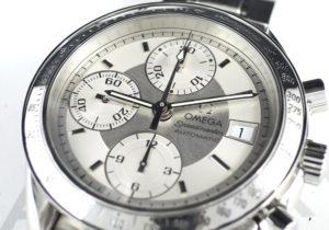 OMEGA スピードマスター デイト 3513.30 クロノグラフ 自動巻 シルバー文字盤 【委託時計】