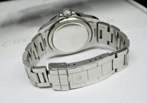ROLEX サブマリーナデイト Ref1680 Cal.1570 プラスチック ステンレス 黒文字盤 白サブ 希少 ハック機能付き フチなし オーバーホール見積書付属 シリアル33~ 【委託時計】