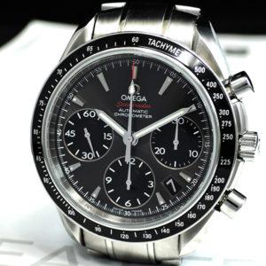 OMEGA スピードマスター デイト 323.30.40.40.06.001 メンズ 腕時計 自動巻き 40mm クロノグラフ ステンレススチール 【委託時計】