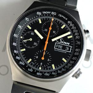 Sinn 144.M.SA 【144】200m防水 自動巻 黒文字盤 メンズ 腕時計 説明書 【委託時計】