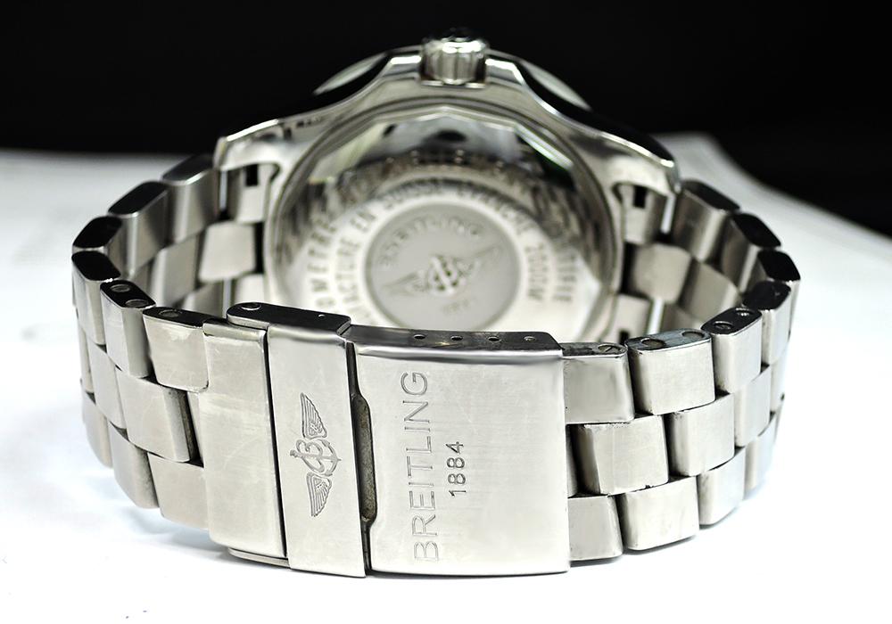 BREITLING スーパーオーシャン A17390 クロノグラフ 自動巻 メンズ 腕時計 保証書有 【委託時計】