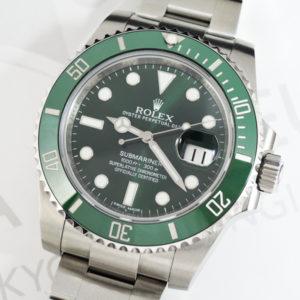 ROLEX サブマリーナ グリーンサブ 116610LV ステンレス メンズ腕時計 保証書付 【委託時計】