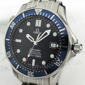OMEGA シーマスター プロフェッショナル300m 2531.80 メンズ腕時計 自動巻 青文字盤 【委託時計】