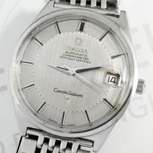 OMEGA コンステレーション12角 168.015 男性用腕時計 シルバー文字盤 自動巻 SS 【委託時計】