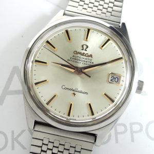 OMEGA コンステレーション 168.015 シルバー文字盤 自動巻 SS デイト メンズ腕時計 【委託時計】