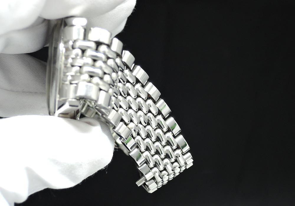 OMEGA シーマスター リダン メンズ時計 デイト 自動巻き 黒文字盤 ステンレス 【委託時計】