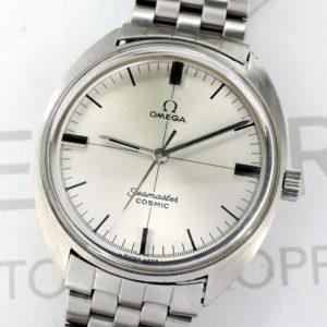 OMEGA シーマスター コスミック 135017 アンティークモデル メンズ腕時計 自動巻 シルバー文字盤 【委託時計】