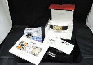 TISSOT ヘリテージ クラシックプリンス T71.3.718.22 バナナウォッチ 手巻き メンズ 腕時計 未使用品 【委託時計】