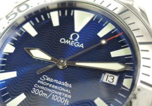 OMEGA シーマスター プロフェッショナル300m 2255.80 自動巻 青文字盤 ステンレス メンズ腕時計 【委託時計】