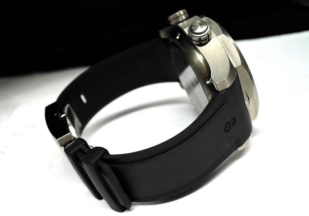 CORUM アドミラルズカップ レジェンド47 ワールドタイマー 637.101.04/F371 AN02 クロノグラフ 自動巻 メンズ腕時計 チタニウム バックスケルトン ラバーストラップ 保証書 箱 説明書 【委託時計】