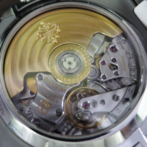 PATEKPHILIPPE 5980/1A-014 ノーチラス クロノグラフ 保・箱・付属完品 【中古時計】