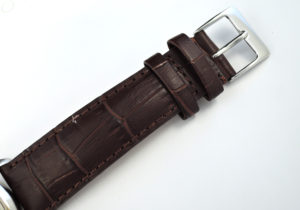 ROLEX オイスターデイト プレシジョン 6694 シルバー文字盤 アンティーク ローマ字インデックス 手巻き ステンレス メンズ腕時計 社外ストラップ  【委託時計】