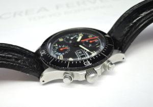 Sinn 256 自動巻 黒文字盤 ステンレス メンズ腕時計 アクリル風防 【委託時計】