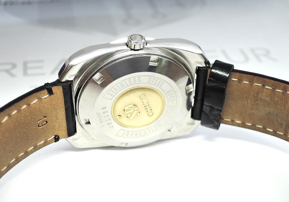 GRAND SEIKO 6145-8020 ハイビート 36000 メンズ 時計 自動巻 シルバー文字盤 SS 【委託時計】