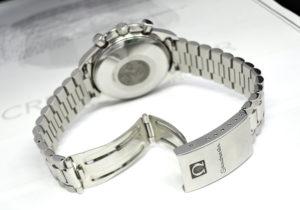OMEGA スピードマスターデイト 3511.80 クロノグラフ 青文字盤 自動巻き ステンレス メンズ 時計 【委託時計】