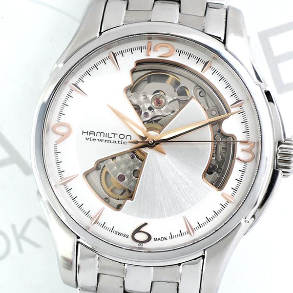 HAMILTON ジャズマスター ビューマチック オープンハート H325651 自動巻 メンズ 時計 【委託時計】