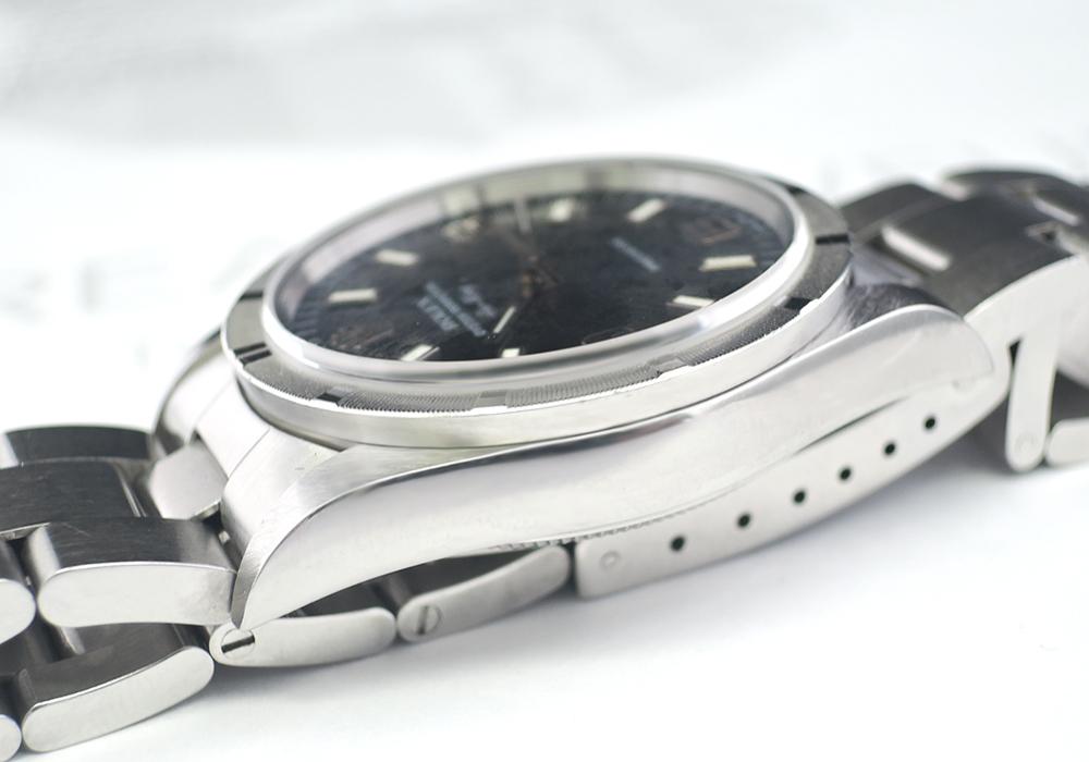 ROLEX オイスターパーペチュアル エアキング 14010 U番 青文字盤 【委託時計】