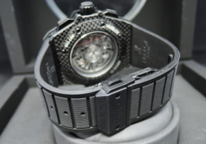 HUBLOT ウニコ キングパワー オールカーボン 701.QX.0140.RX メンズ 時計 保証書 【委託時計】