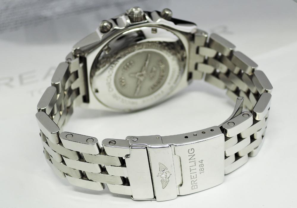 BREITLING クロノマット フレッチェ トリコローリ A13050.1 保証書 【委託時計】