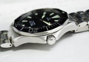 OMEGA シーマスター プロダイバーズ300m 2264.50 メンズ腕時計 クォーツ 黒文字盤 【委託時計】