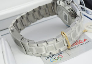 OMEGA スピードマスター 522.30.42.30.03.001 東京五輪 オリンピック 2020本 限定 青文字盤 42mm 手巻 未使用 【委託時計】