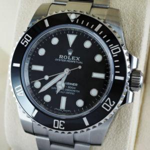 ROLEX サブマリーナ ノンデイト 114060 ランダム番 自動巻 保証書 未使用 【委託時計】
