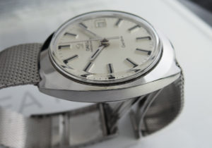 OMEGA クロノストップ ジュネーブ ヴィンテージ メンズ 時計 手巻 シルバー文字盤 【委託時計】