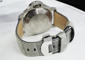 PANERAI ルミノールクロノ デイライト PAM00086 自動巻 ステンレス メンズ腕時計 箱 保証書 説明書 予備ストラップ 栃木レザー 【委託時計】