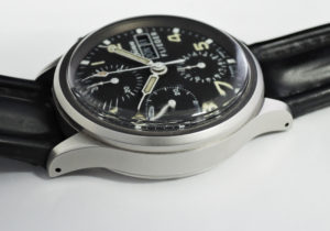 Sinn 356 フリーガー 手巻 黒文字盤 ステンレス メンズ腕時計 プラスティック風防 保証書 【委託時計】