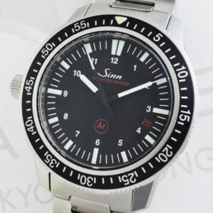 Sinn 603.EZM3 ドイツ警察特殊部隊 ステンレス 自動巻 黒文字盤 【委託時計】
