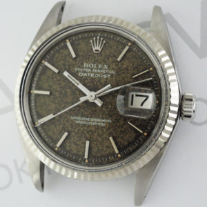 ROLEX デイトジャスト1601 SS 巻きブレス 自動巻 シリアル腐食 メンズ 腕時計 【委託時計】