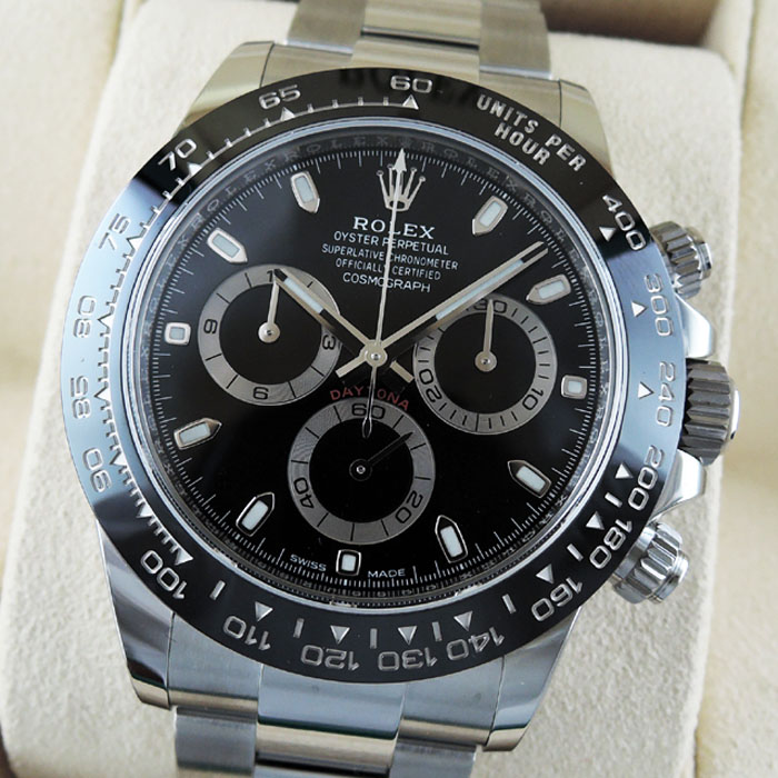 factory price 8bbdb 3d624 ROLEX デイトナ DAYTONA 116500LN 黒 日本ロレックス保証書 国内 ...