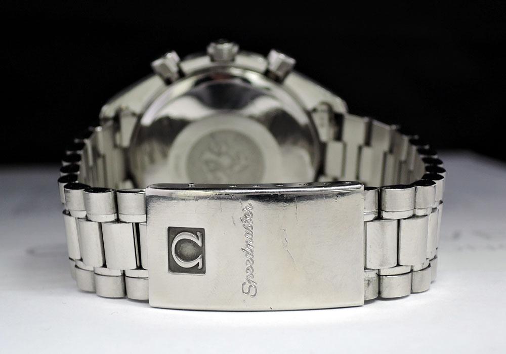 OMEGA スピードマスターデイト 3511.80 クロノグラフ 自動巻 青文字盤 【委託時計】