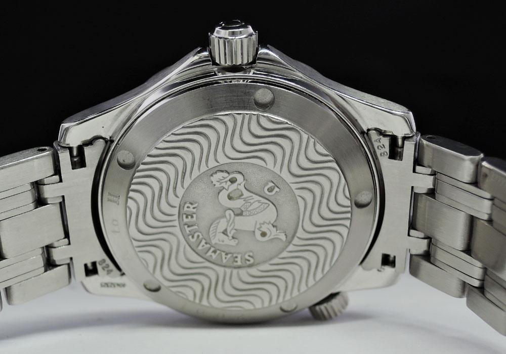 OMEGA シーマスター プロフェッショナル300m 2551.80 自動巻 青文字盤 メンズ 腕時計 【委託時計】
