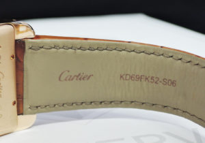 CARTIER タンクアメリカン XL クロノグラフ W2609356 自動巻 18Kピンクゴールド 腕時計 メンズ 保証書 【委託時計】